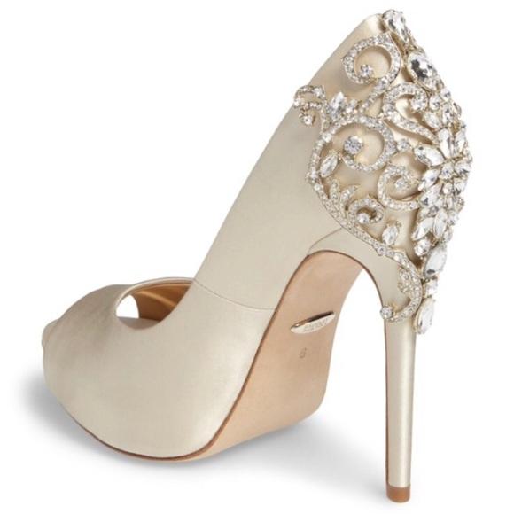 a8937753ca Badgley Mischka Shoes   Nwt Karolina Embellished Heels   Poshmark